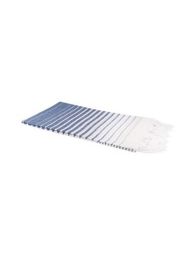 Bedinn 100 X 180 Cm Pamuk Ipliği Yıkanabilir Yakamoz Peştemal Mavi